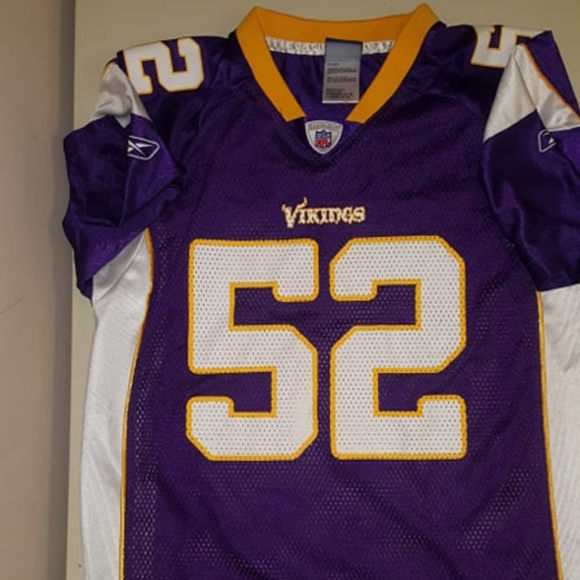 chad greenway youth jersey